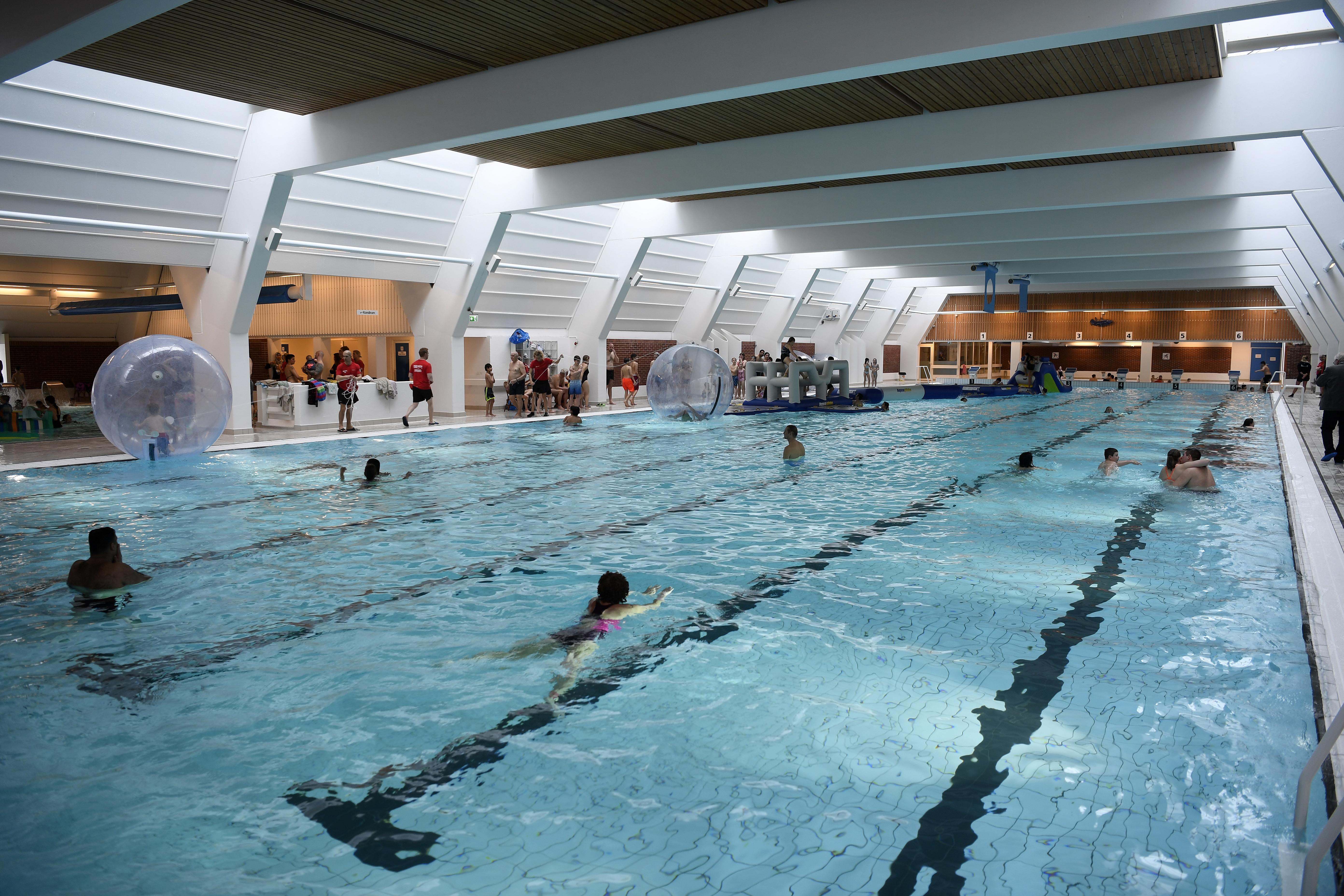 svømmehal for kvinder